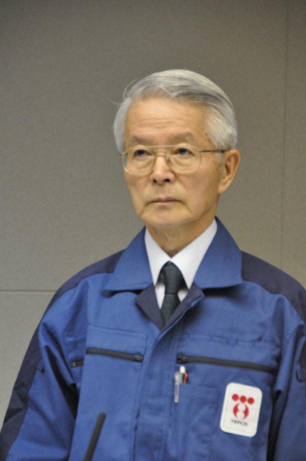 東京電力・勝俣恒久会長。広瀬隆氏のひそみに倣えば「悪党の頭目」だ。(写真:筆者撮影)