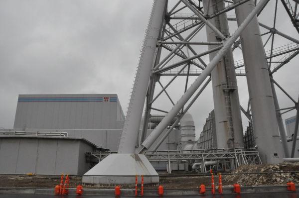 1~7号機が即時廃炉にすべき原発に選ばれた柏崎刈羽原発。=写真:田中撮影=