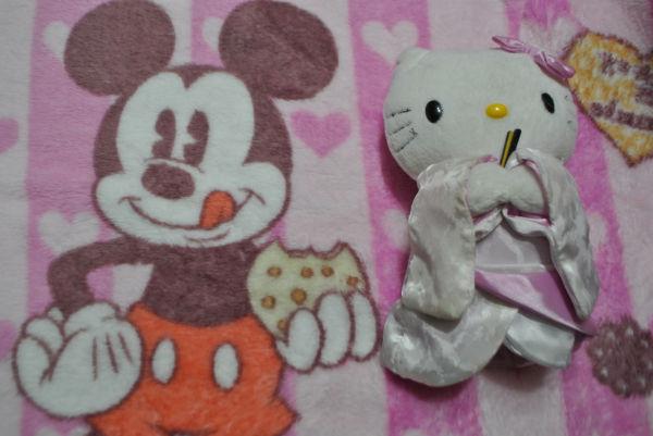 ミッキーマウスとキティーちゃん。TPPの出と入りだ。どちらが多いかは言うまでもない。