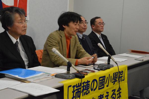 提訴後の記者会見であれば、マスコミは報道する。写真は2月9日の記者会見ではありません。=大阪地裁・司法記者クラブ 撮影:筆者=