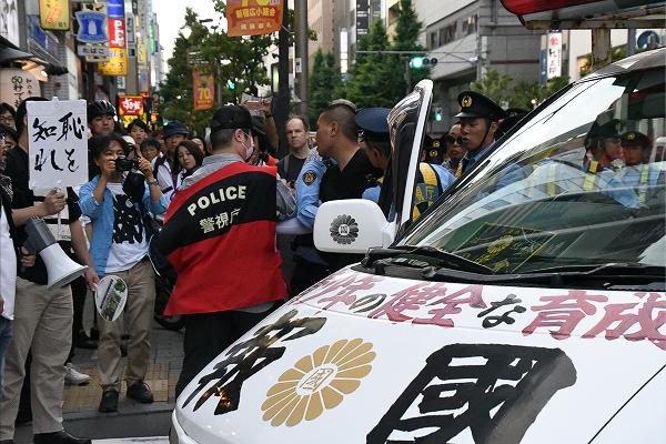 田中龍作ジャーナル | アベノ右翼が牙をむき始めた デモ参加者「日本が ...